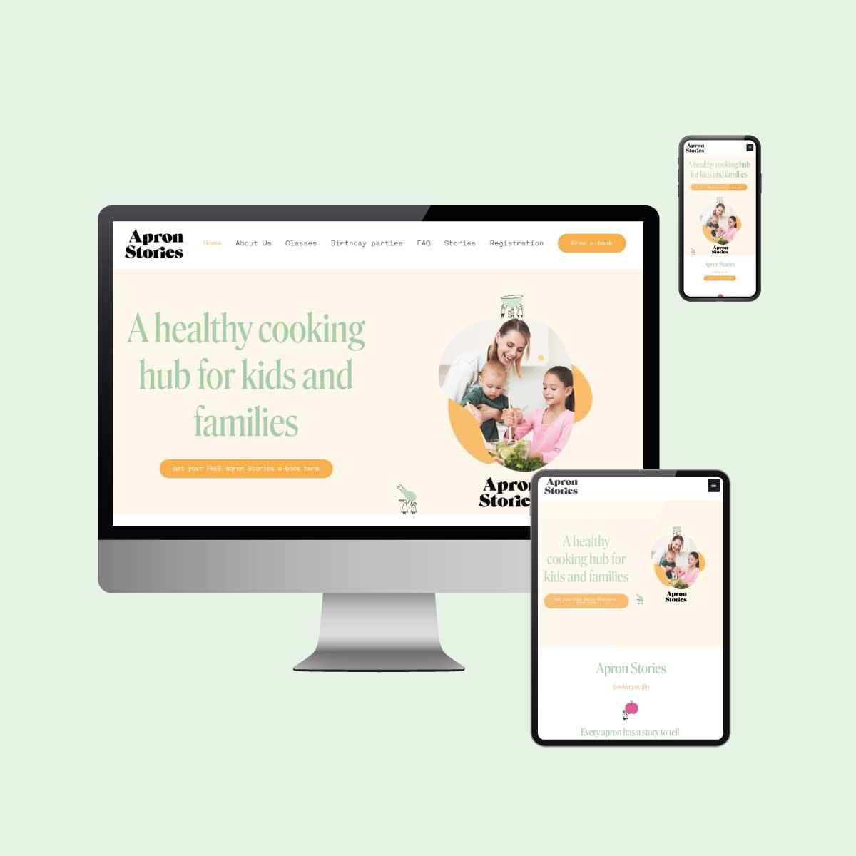 Apron Stories website