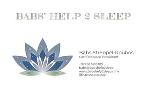 Babs Roubos business card
