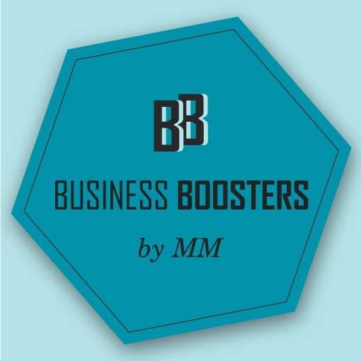 Business Boosters by MM logo design