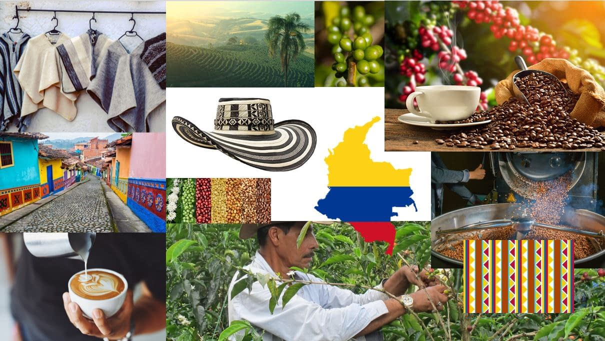 Colombian Exotic Coffee_collage